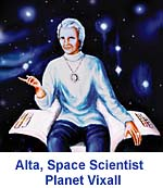 Alta, Space Scientist