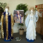 Exhibit of Uriel's costumes